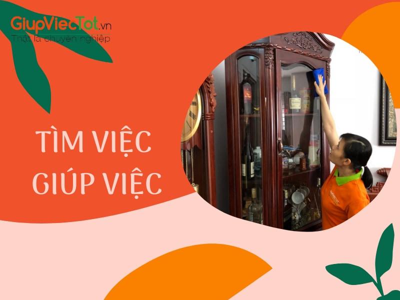 Tìm Việc Giúp Việc Lương Cao Tại Hà Nội – GiupViecTot.vn