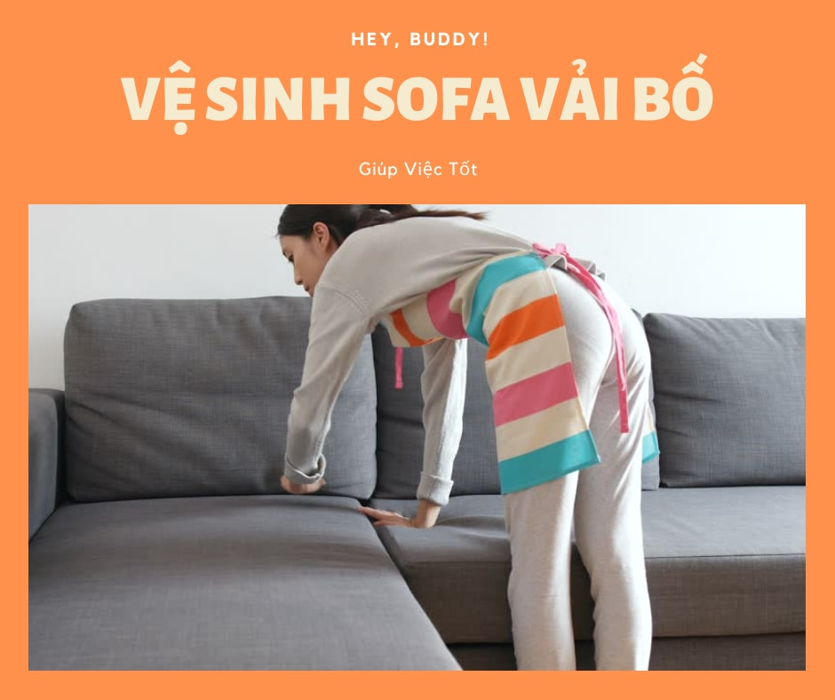 [Bạn có biết] Cách vệ sinh ghế sofa vải bố đơn giản, hiệu quả
