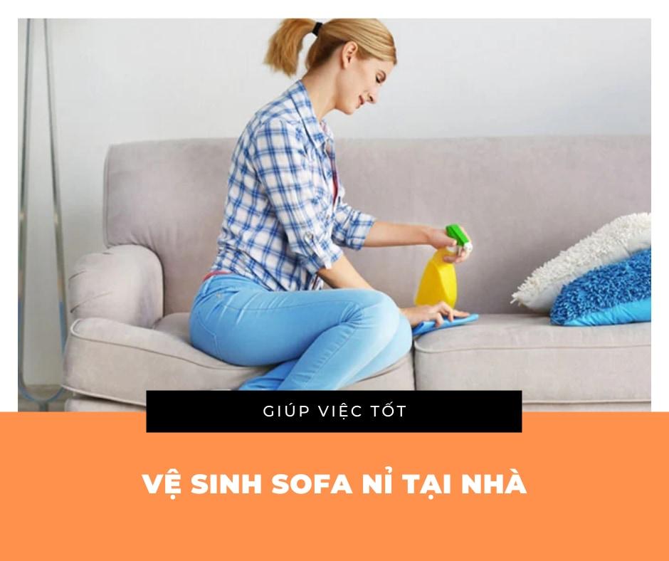 [Mách bạn] Cách vệ sinh sofa nỉ đơn giản, nhanh chóng tại nhà