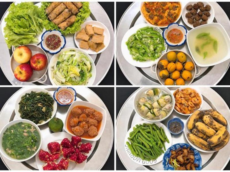 Các món ăn ngon moi ngay đầy đủ dinh dưỡng – Thực đơn 15 ngày