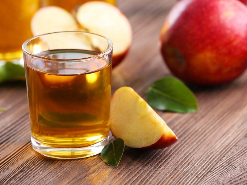 cách làm nước ép táo không bị thâm