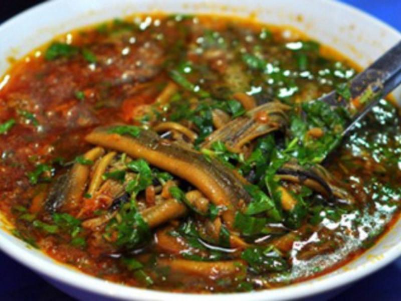 cách làm súp lươn Nghệ An
