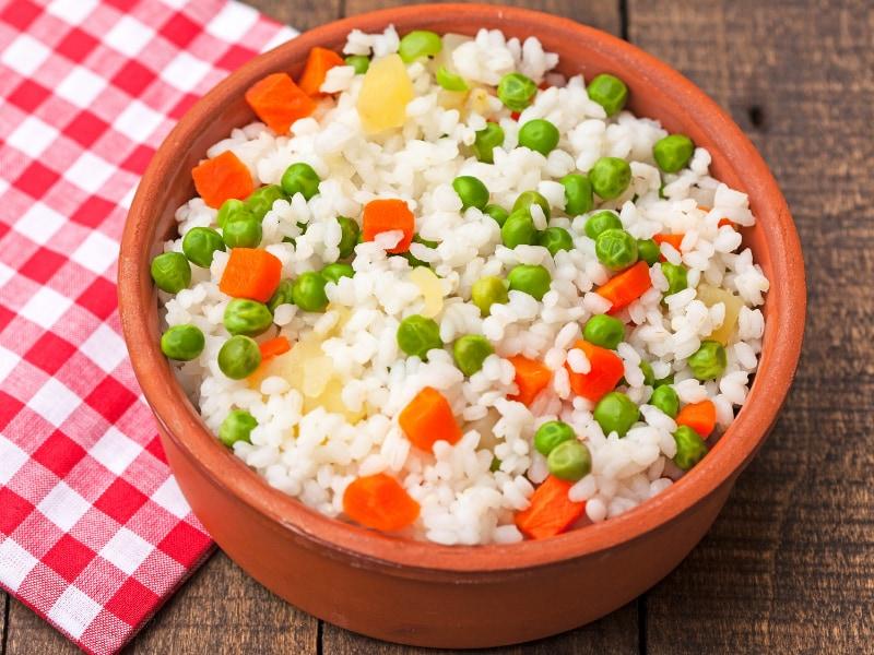 cơm đậu hà lan