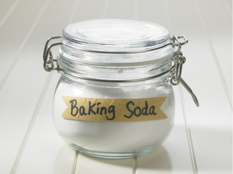 giặt đệm bằng baking soda