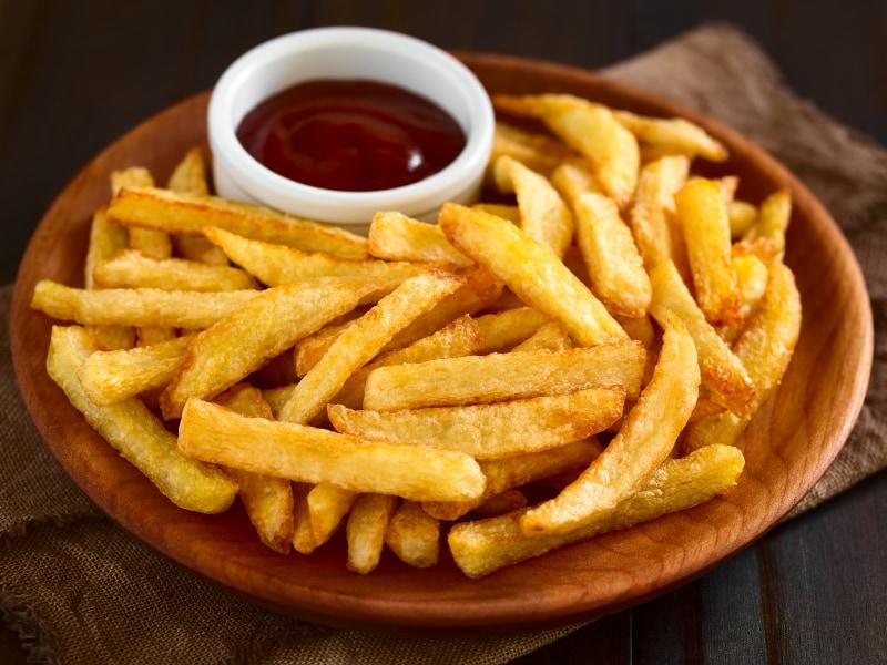 kiêng ăn khoai tây chiên