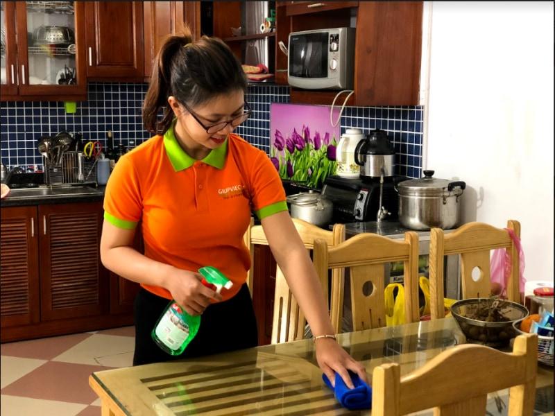 Bí quyết giúp việc dọn nhà trở nên nhanh chóng hơn