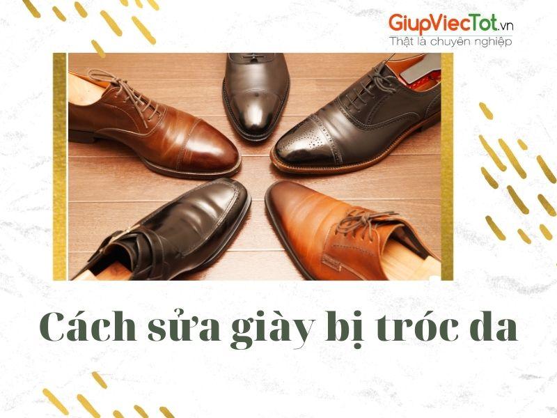 [Mách bạn] Cách sửa giày bị tróc da đơn giản hiệu quả tại nhà
