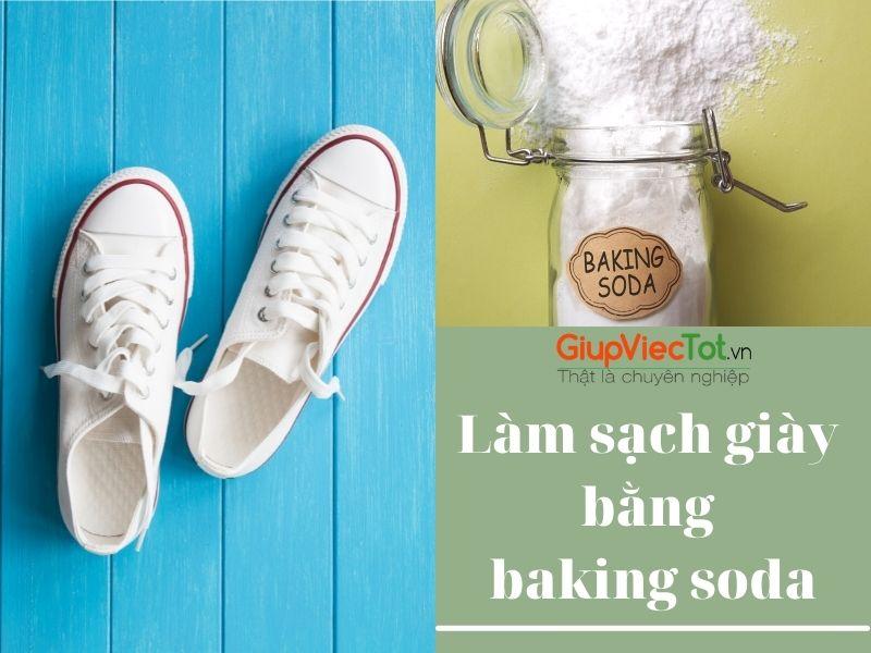 [Mách bạn] Bí quyết làm sạch giày bằng baking soda hiệu quả!